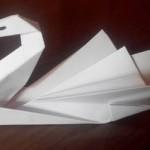 Как сделать оригами лебедя