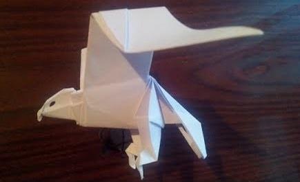 Орел оригами (Nicolas Terry)
