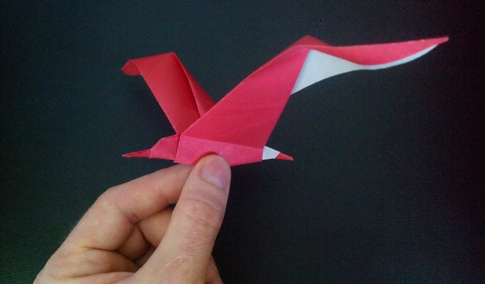 Чайка оригами (Riccardo Foschi)