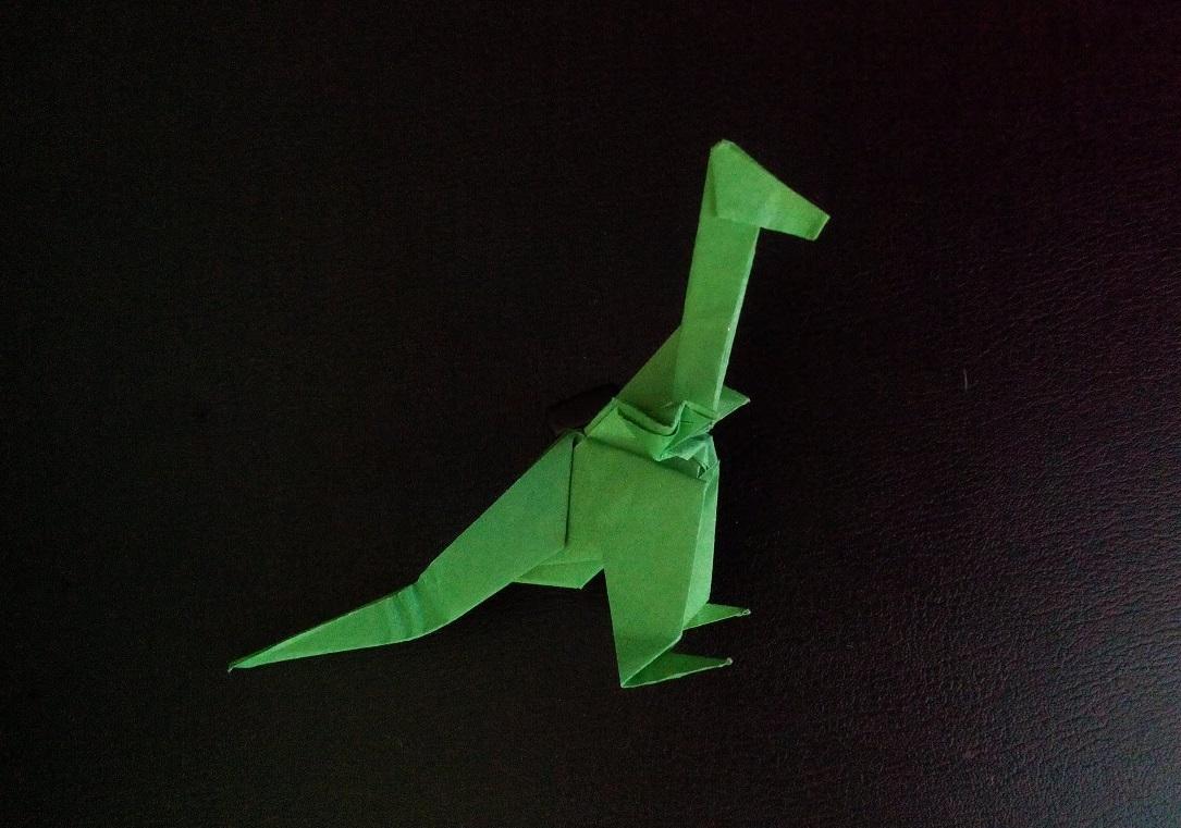 Динозавр Рекс оригами