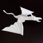 Дракон летящий оригами (Marc Vigo)