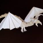Как сделать дракона оригами (Tadashi Mori)