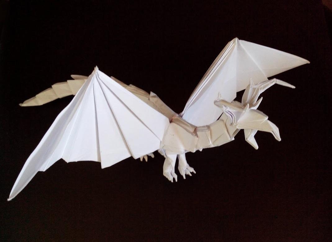 Дракон оригами (Tadashi Mori)