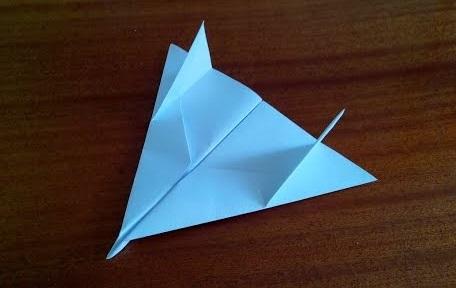 Истребитель оригами