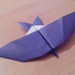 Как сделать птицу буревестник оригами