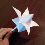 Как сделать тюльпан оригами (Marc Kirschenbaum)