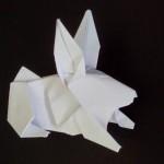 Кролик оригами (Hsi-Min Tai)