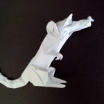 Крыса оригами