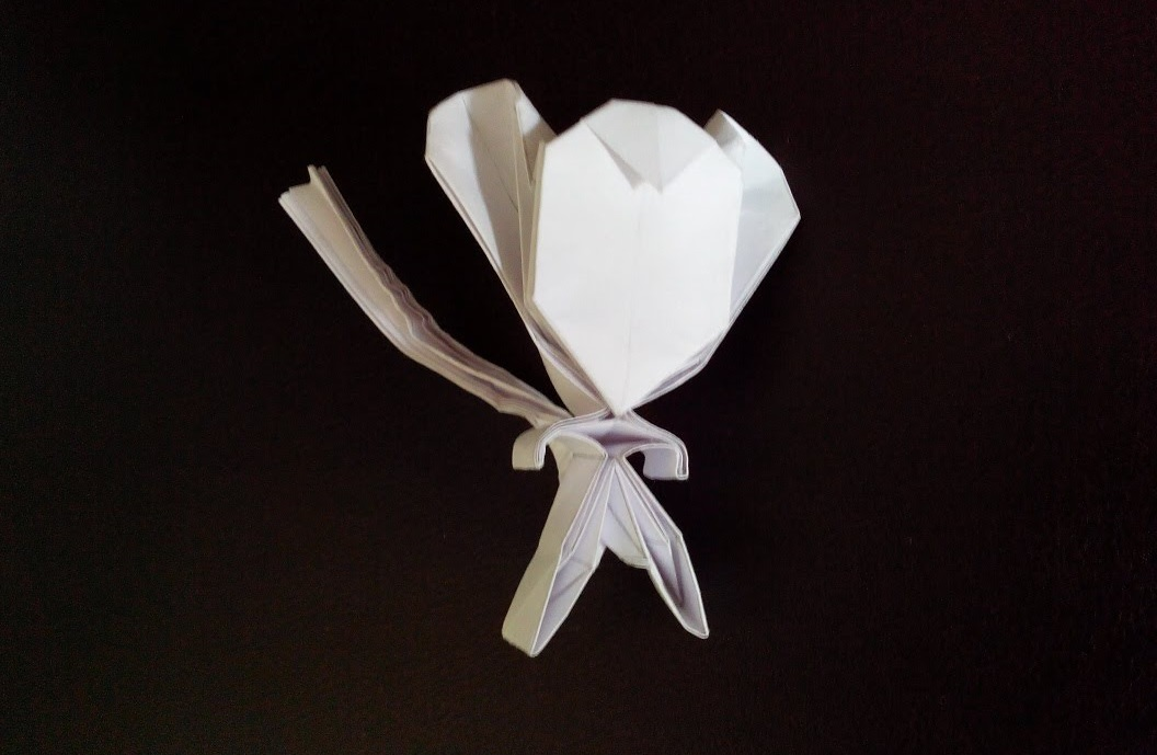 Обезьяна оригами (Tran Trung Hieu)