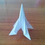 Оригами ракета дальнего действия