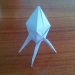 Оригами ракета грузовая