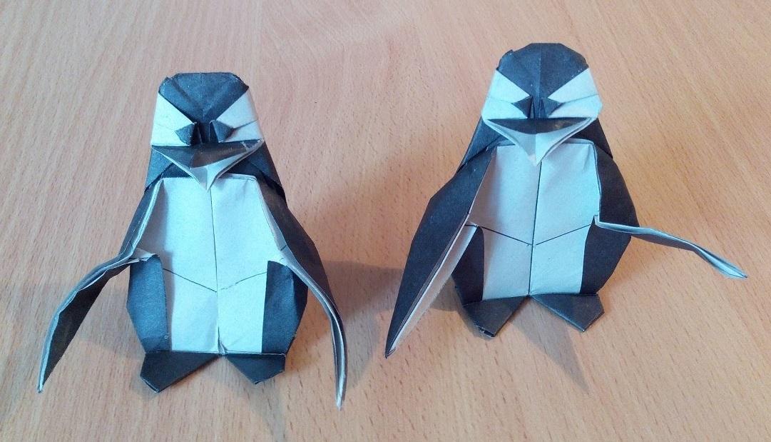 Пингвин оригами (Fernando Gilgado)