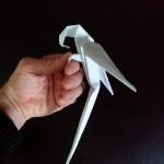Попугай оригами (Manuel Sigro)