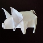 Поросенок оригами (Fuchimoto Muneji)