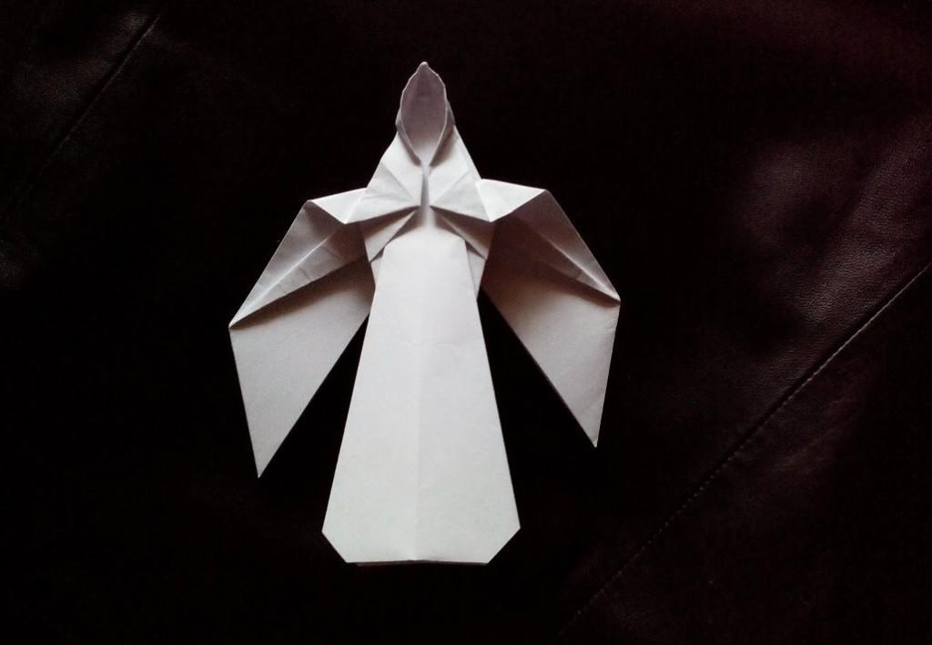 Ангел оригами