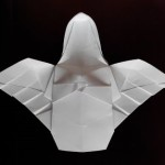 Ангелок оригами