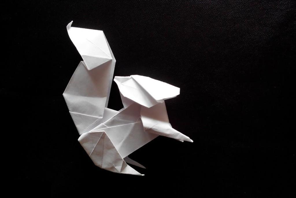 Белка оригами (Fuchimoto Muneji)