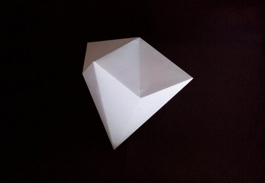Бриллиант оригами