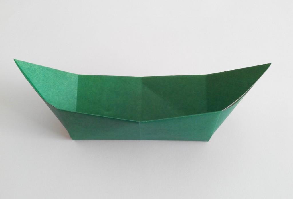 Челнок оригами