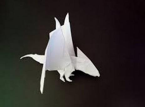 Детеныш дракона оригами (Tadashi Mori)
