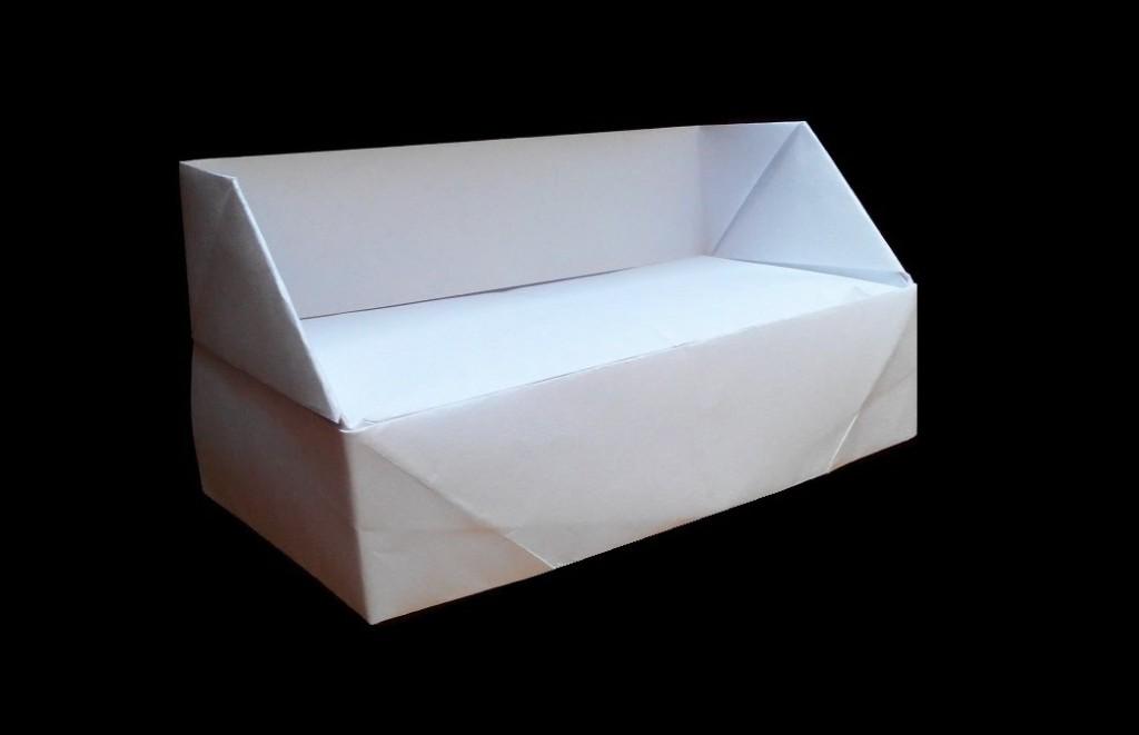 Диван оригами