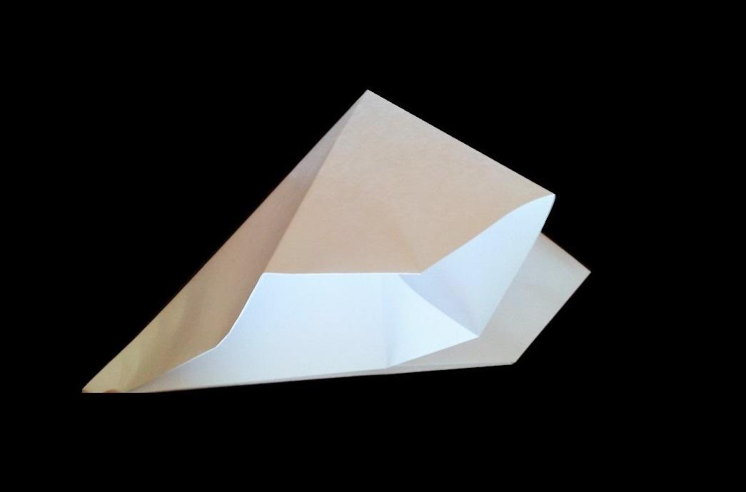 Хлопушка двойная оригами