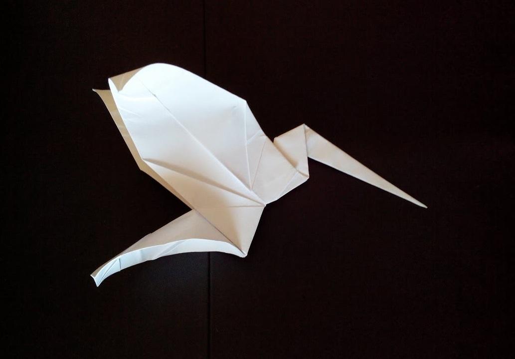Колибри оригами