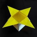 Черновик Коробочка звезда оригами