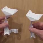 Кошка оригами (Richard Wang)
