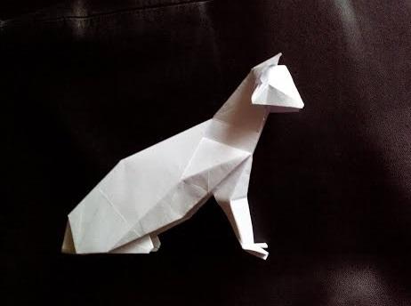 Кот оригами (Hideo Komatsu)