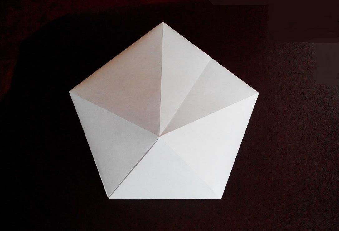 Красивый бриллиант оригами