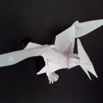 Красивый птеродактиль оригами (Jason Ku)