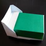 Кровать оригами
