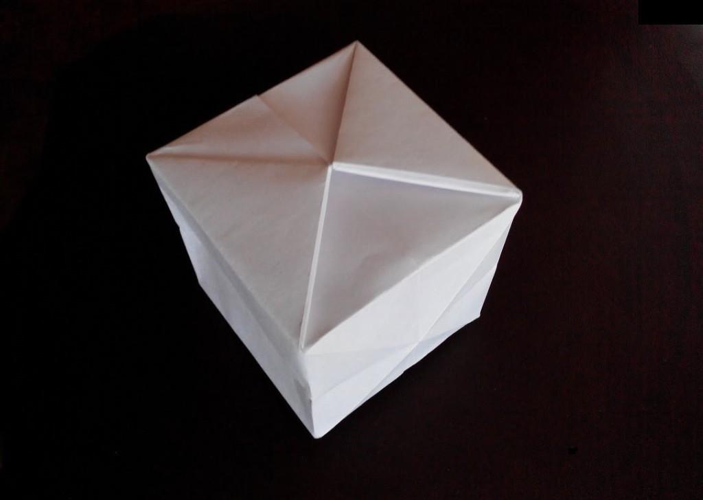 Куб оригами