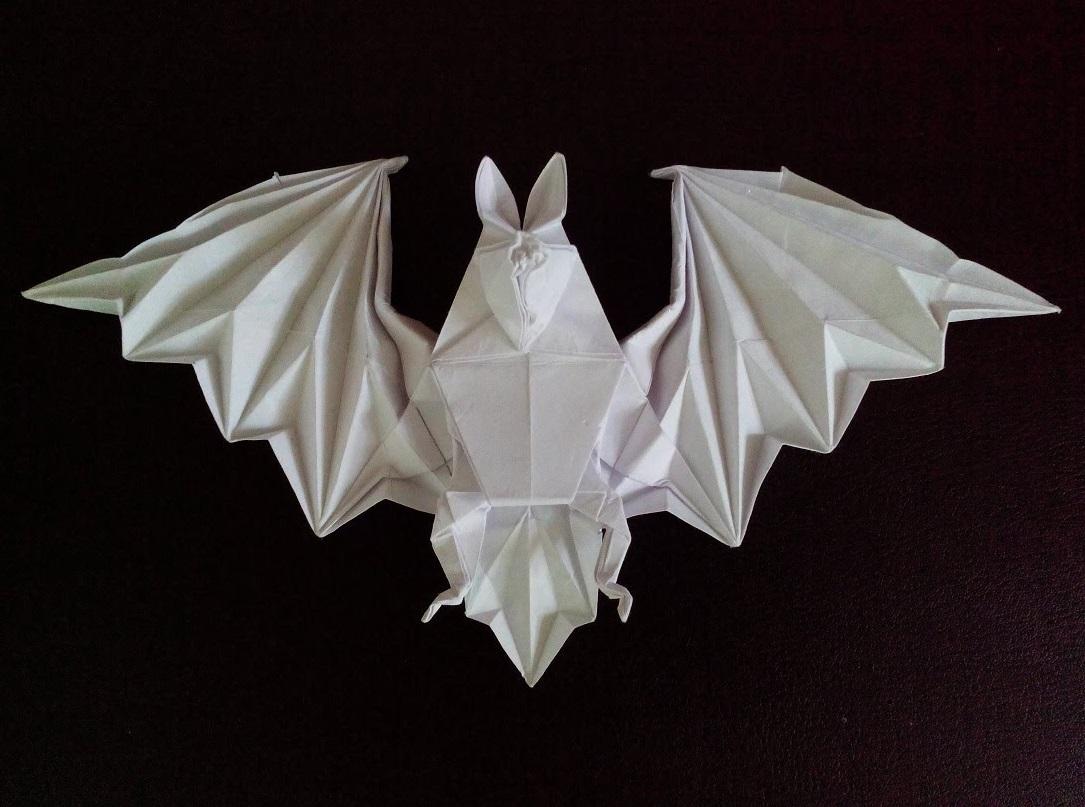 Летучая мышь оригами (Miyajima Noboru)