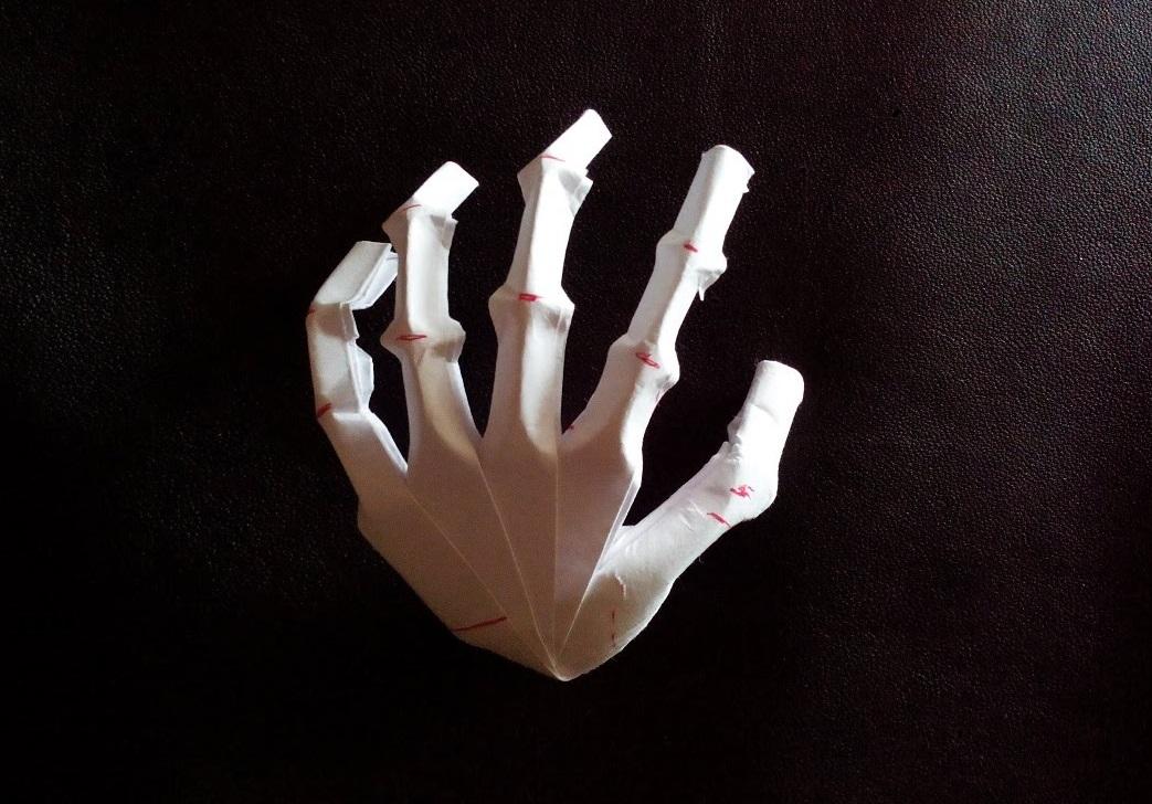 Левая рука оригами (Jeremy Shafer)