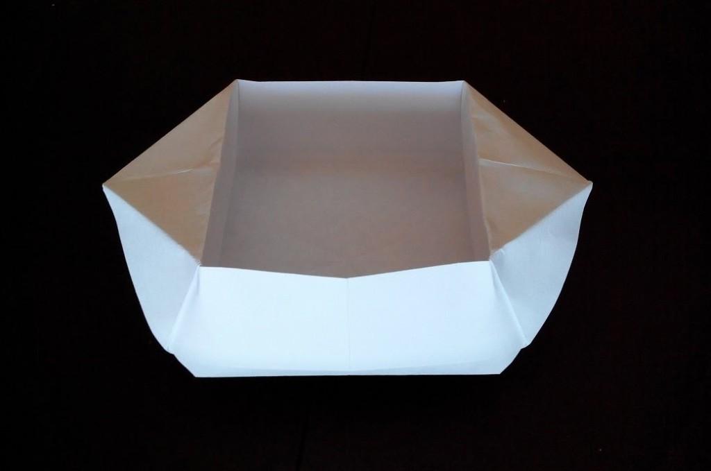 Миска оригами