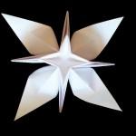 Необычный цветок оригами