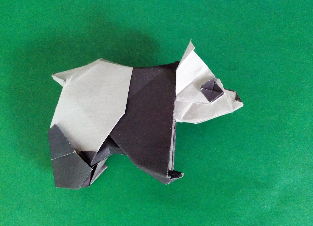 Панда оригами (Fumiaki Kawahata)