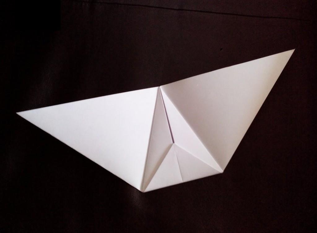Планер крыло из бумаги
