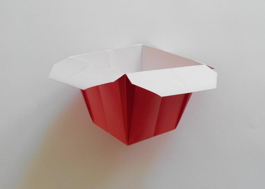 Стаканчик оригами