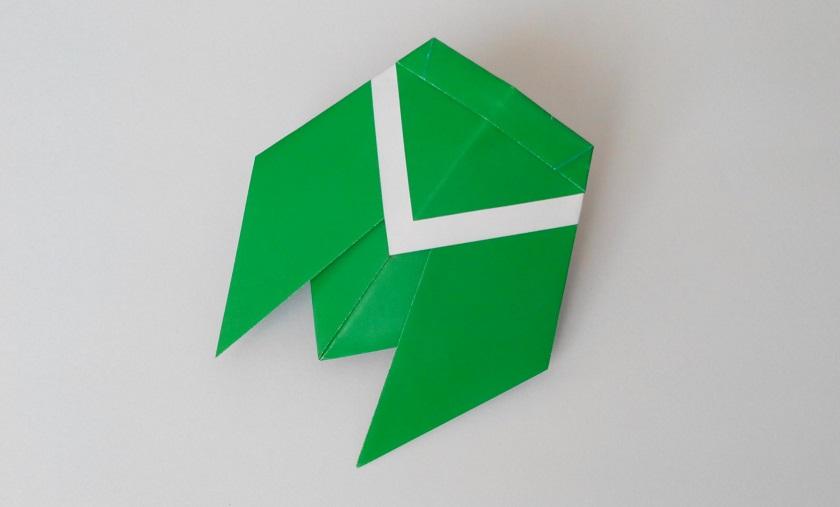 Цикада оригами, Вариант 2