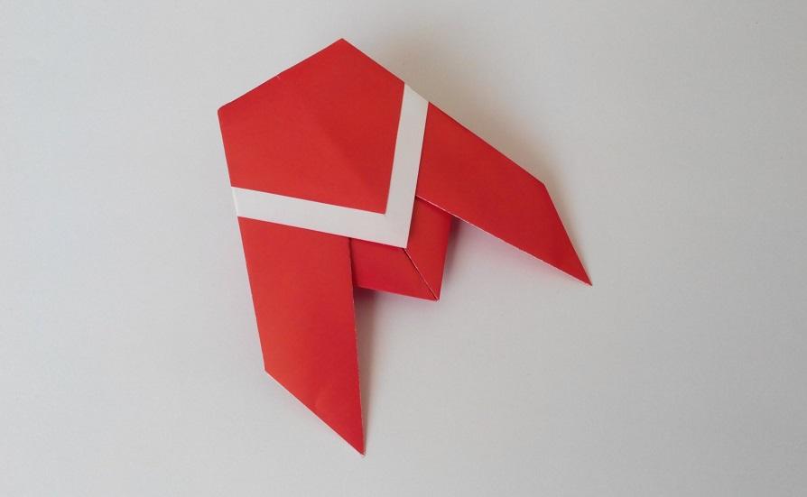 Цикада оригами, вариант 1