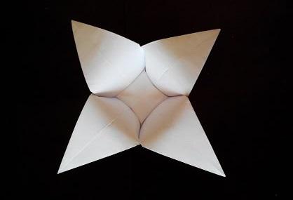 Цветок оригами