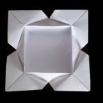 Тарелка оригами (Carlos Aguilar)