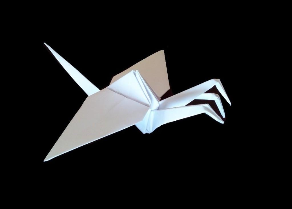 Трехголовый дракон оригами