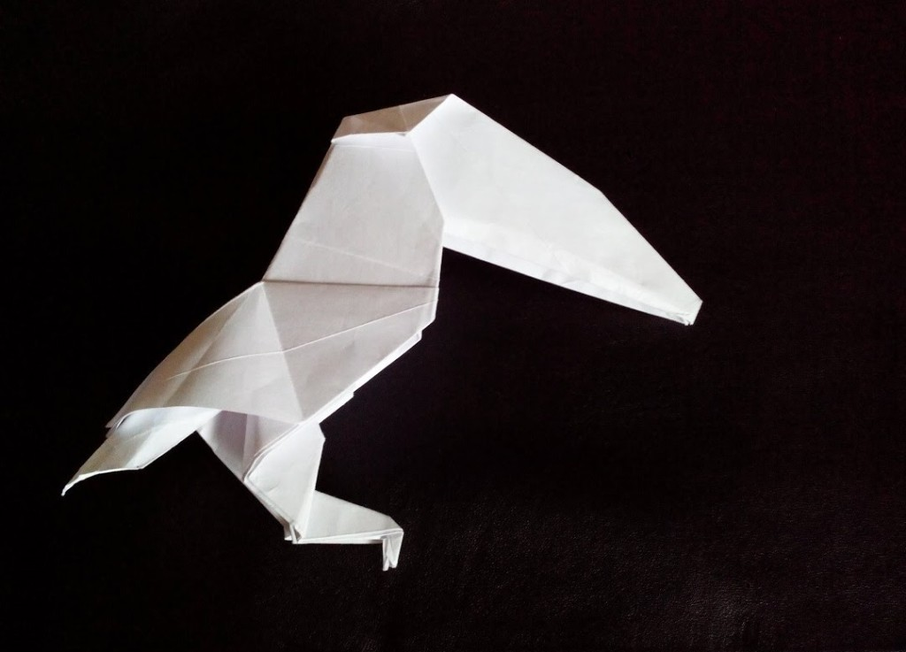 Тукан оригами (Masahiko Tanaka)