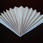 Веер оригами