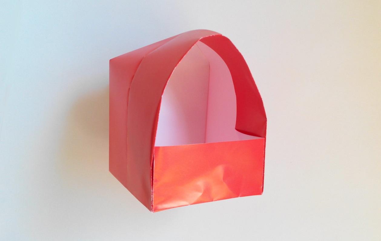Как из бумаги сделать домик оригами из бумаги