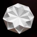Очень красивый бриллиант оригами